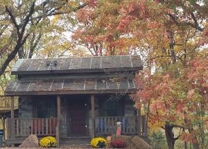 Twin Oaks Log Cabin