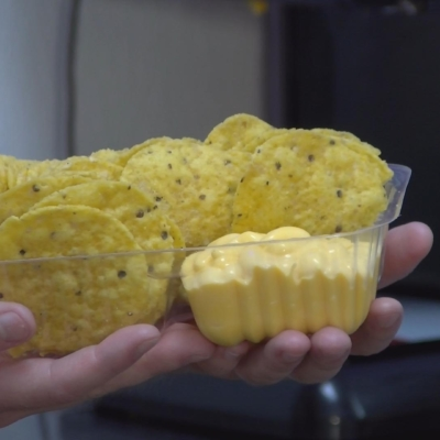 OUTPOST FOOD CHIPS CHEESE