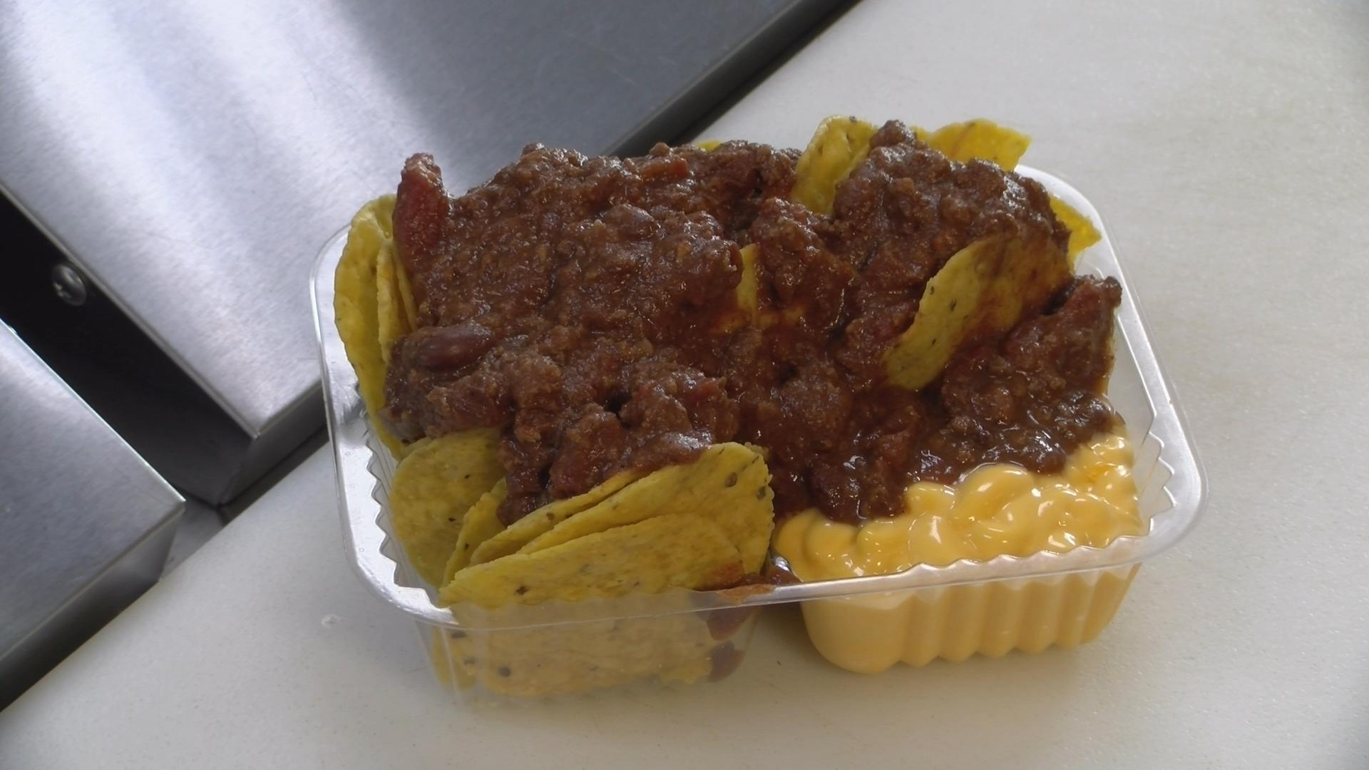 OUTPOST FOOD CHIPS CHILI