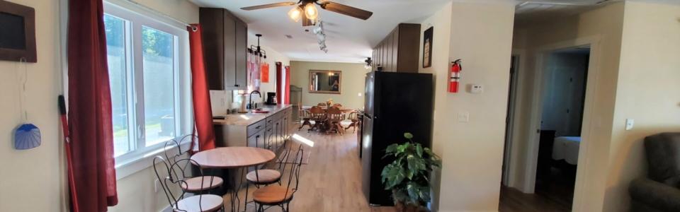 Chestnut kitchen
