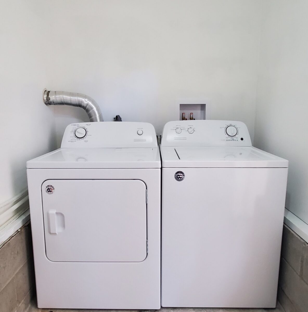 Chestnut washer dryer